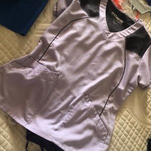 Greys anatomy scrub top and urbane bottom